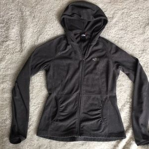 Women's small grey north face fleece